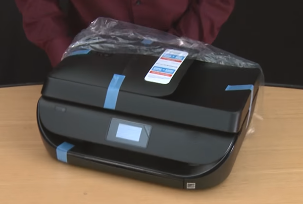 hp officejet 4630 unboxing setup