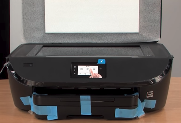 hp envy 7155 unboxing setup