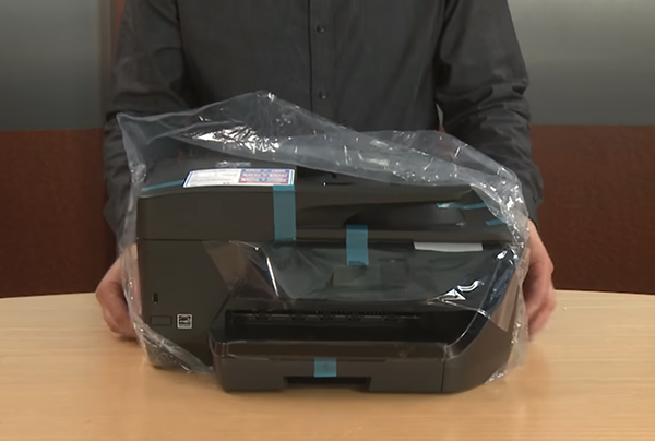 hp officejet 6960 unboxing setup