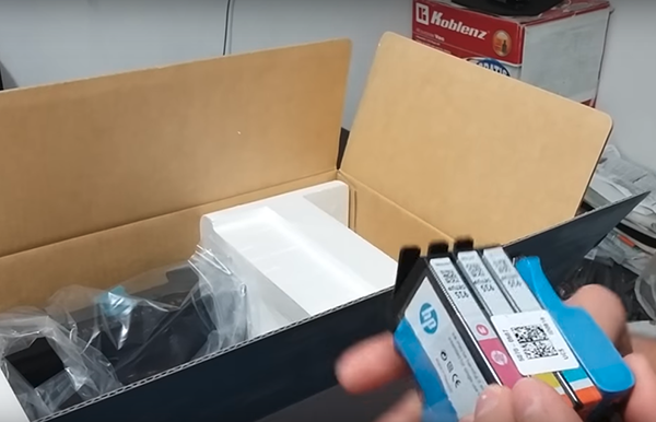 hp officejet pro 6830 unboxing setup