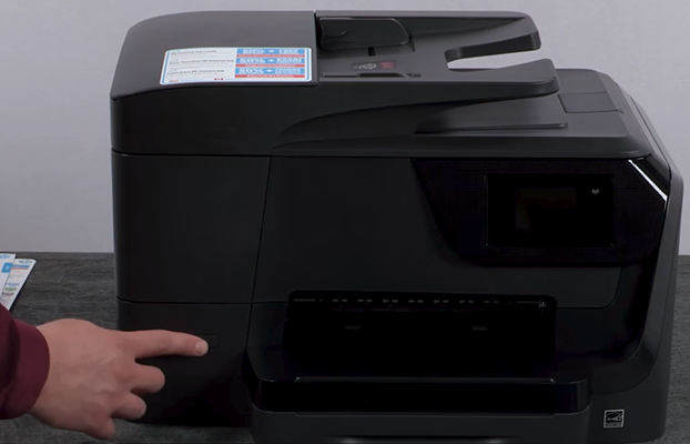 hp officejet pro 8715 unboxing setup