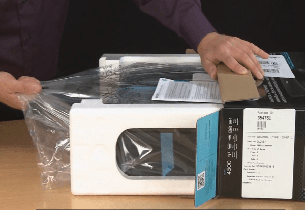 hp envy 4500 unboxing setup
