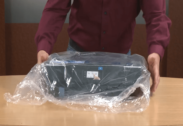 hp envy 4520 unboxing setup