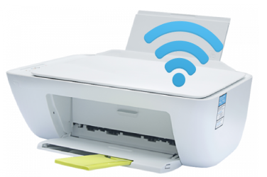 can hp deskjet 2132 print wirelessly
