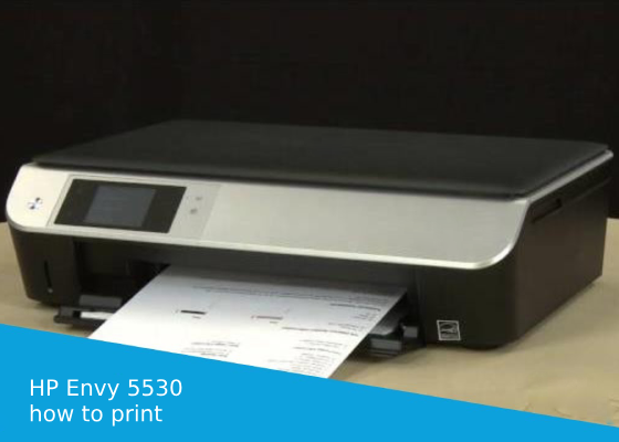 how to print 4x6 photos on hp envy 5530