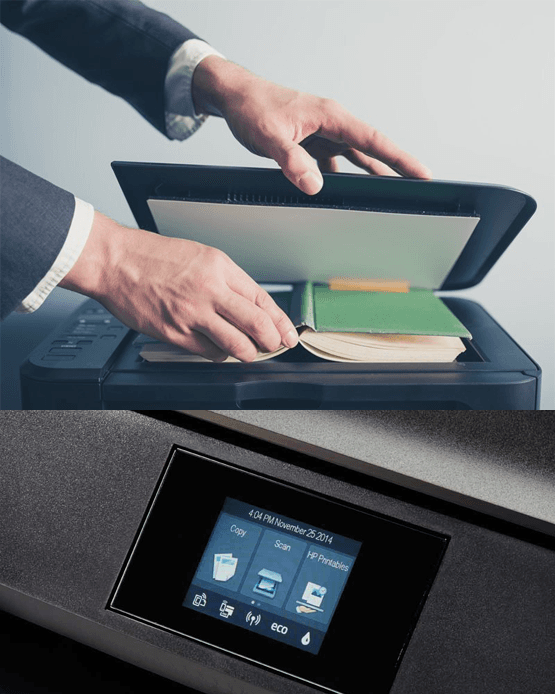 how to scan multiple pages on HP-Envy-4510